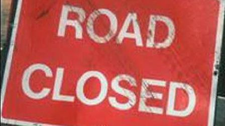 Coopers Green Lane, Green Lanes, Marford Road, Great Braitch Lane and Bell Roundabout are closed unt