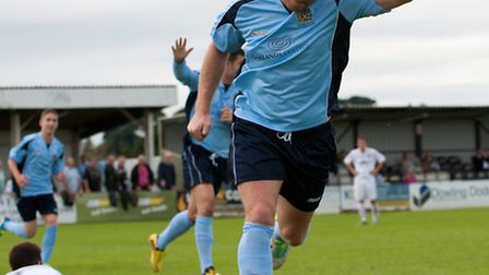 Chris Watters has joined Hertford Town on dual registration. Picture by Bob Walkley