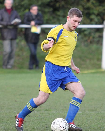 Danny Green during his Harpenden Town days. Picture: Danny Loo