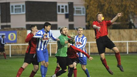 Eynesbury Rovers have a busy last couple of months of the season. Picture: Helen Drake