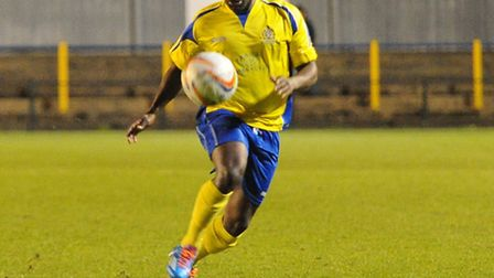 Chris Henry impressed in a rare start for St Albans City. Picture: Bob Walkley
