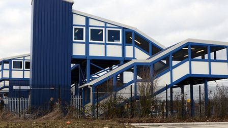 St Neots footbridge lifts are not in operation overnight.