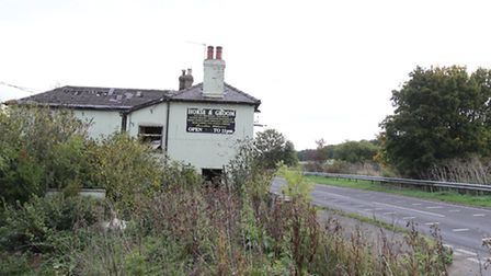 The Horse and Groom pub has been put up for sale