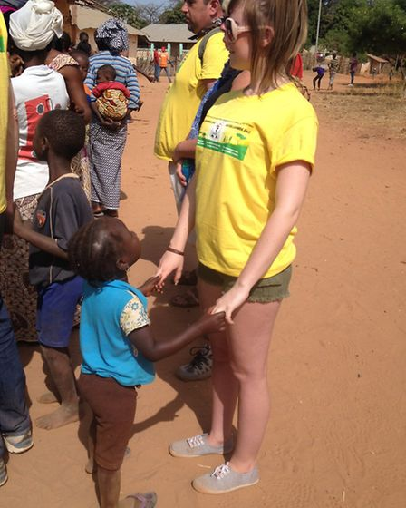 Becca Harness in The Gambia