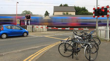 Foxton level crossing was named in the top ten in the country when it comes to drivers taking risks
