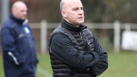 Harpenden Town manager Danny Plumb