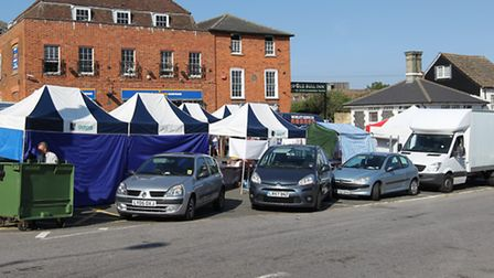 Stallholders have left Royston market after having to make way for a car boot sale