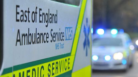 A woman was taken to hospital with minor injuries after a crash in Welwyn Garden City