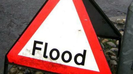 Flooding has caused havoc across the district today and is expected to last throughout the weekend.