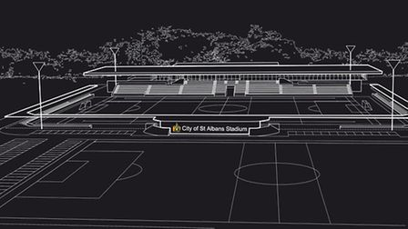 Plans for a new stadium were the main talking point at Thursday's fans' forum. Above is the design t