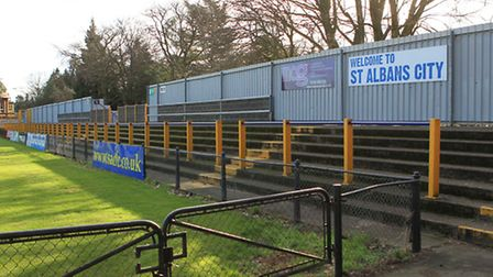 There is no scope to expand St Albans City's current stadium in Clarence Park.