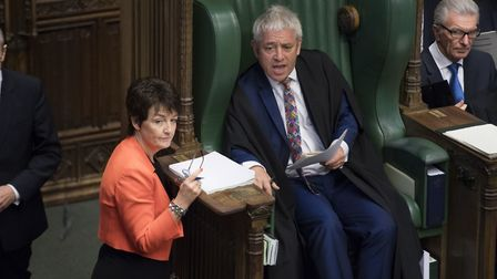 Speaker John Bercow in the House of Commons. Photograph: UK Parliament/Jessica Taylor.