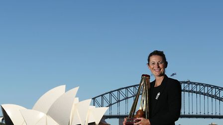 England women's Ashes winning captain Charlotte Edwards in Sydney. Picture Mark Metcalfe/Getty Image