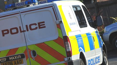 Police and ambulance service were called to Hitchin Road on the A602 following a crash between a van