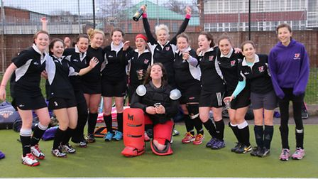 Royston ladies 2nds win the league title