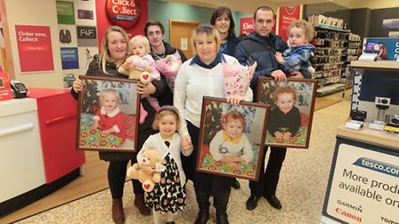 The winners of our Christmas Babies competition