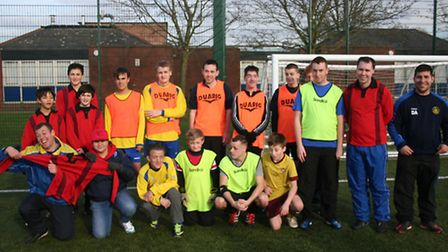 St Albans City Youth in the Community's disability football festival.