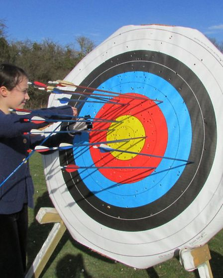 Pictures from Wheathampstead Archery Club's have-a-go day.