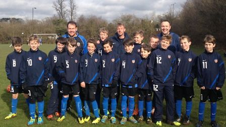 Harpenden Colts U11 Eagles will play for the County Cup on May 4.