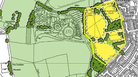 Green Belt Review for St Albans. SKM has suggested building near Butterfly World