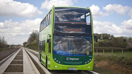 Guided busway