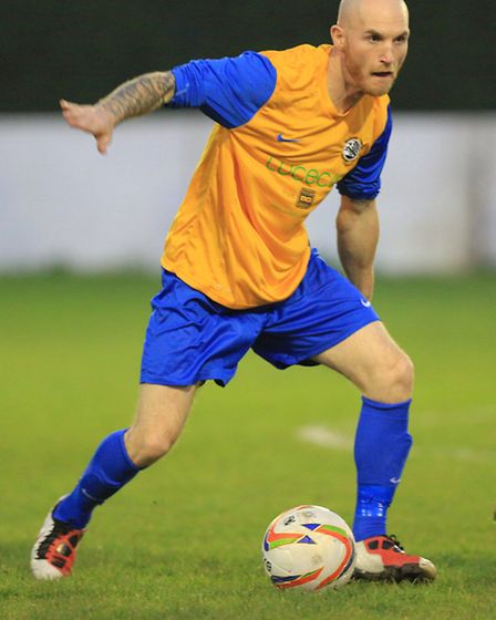 Scott Bridges opened his account for Royston on Tuesday