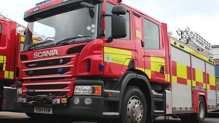 Firefighters were called to a car fire yesterday evening.