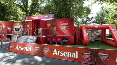Arsenal are holding a free football festival for youngsters in St Albans