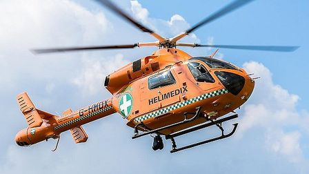 Magpas helicopter