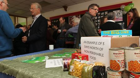 The launch of the Royston Foodbank