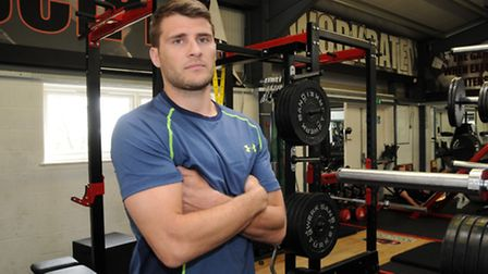 Richard Wigglesworth trains in his new Under Armour gear ahead of Saturday's visit to Ulster. Pictur