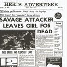 Article about Marie's attack in the Herts Advertiser in April 1972