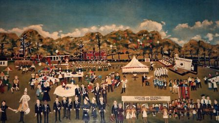 Mystery over whereabouts of a painting showing Hill End hospital's fete in St Albans