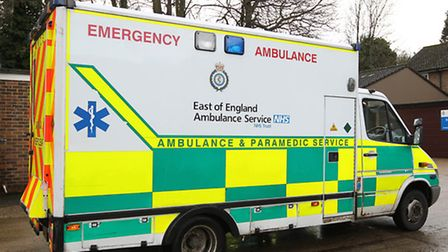 A two-year-old girl was rescued from a Buckden lake.