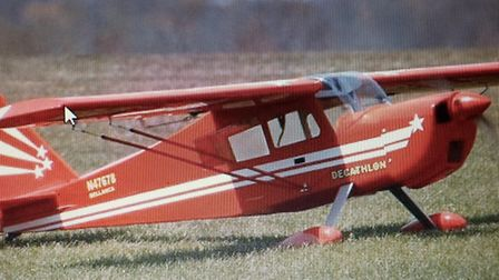 This large model plane has been stolen during a burglary in St Albans
