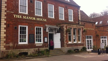 The Manor House pub in Royston