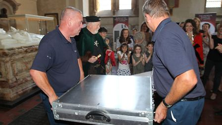 The Magna Carta arrives at St Albans Abbey