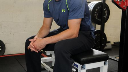 Saracens scrum-half Richard Wigglesworth in his new Under Armour gear. Picture: Kevin Lines