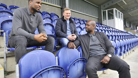 The St Neots Town managment team of Zema Abbey, Gary King and Zema Abbey. Picture: Helen Drake
