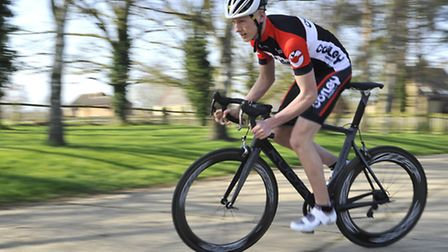 Triathlete Tom Stead from Staploe is hoping to raise funds from crowd-funding wesbite Talent Backer.