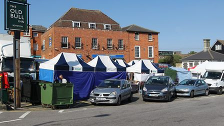 The town council wants to buy land where Royston market is located