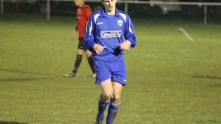 Greg Shaw found the net in London Colney's win over Hertford Town. Picture: James Whittamore