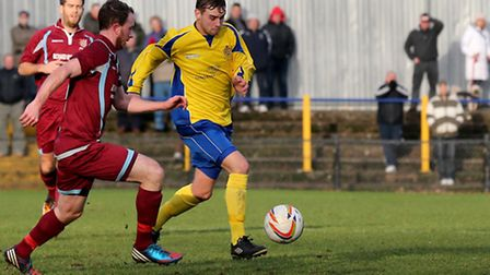 David Keenleyside hasn't played for St Albans since January 21. Picture: Leigh Page