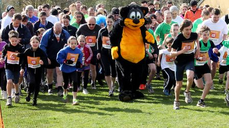 Little Paxton Sport Relief Mile. Picture: IAN NARIN