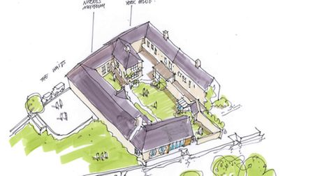 Proposed expansion of the Norris Museum. Image: CARROE ARCHITECTURE