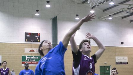 Oaklands College won the men's basketball at the Herts FE Games.