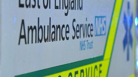 The ambulance service were called after a car ended up in a ditch