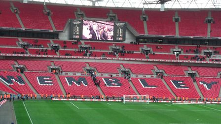 This weekend I was at Wembley with 11,000 other Cambridge United fans enjoying our teams, er, glorio