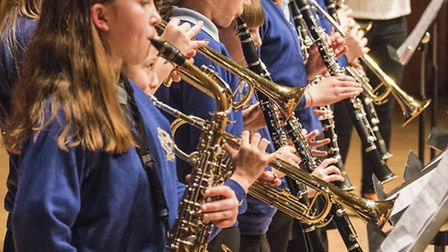 Musicians from Roman Way First School in Royston