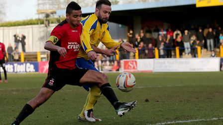 Peter Dean scored once for City since joining on January 22 . Picture: Leigh Page